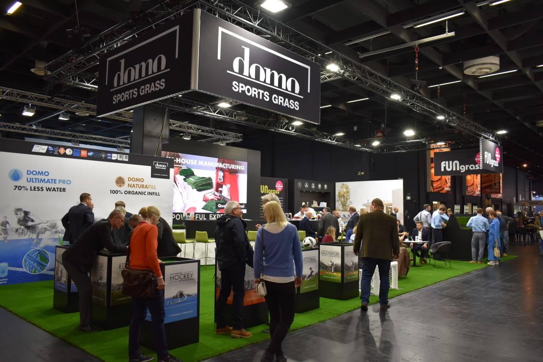 Expo stand voor kunstgras