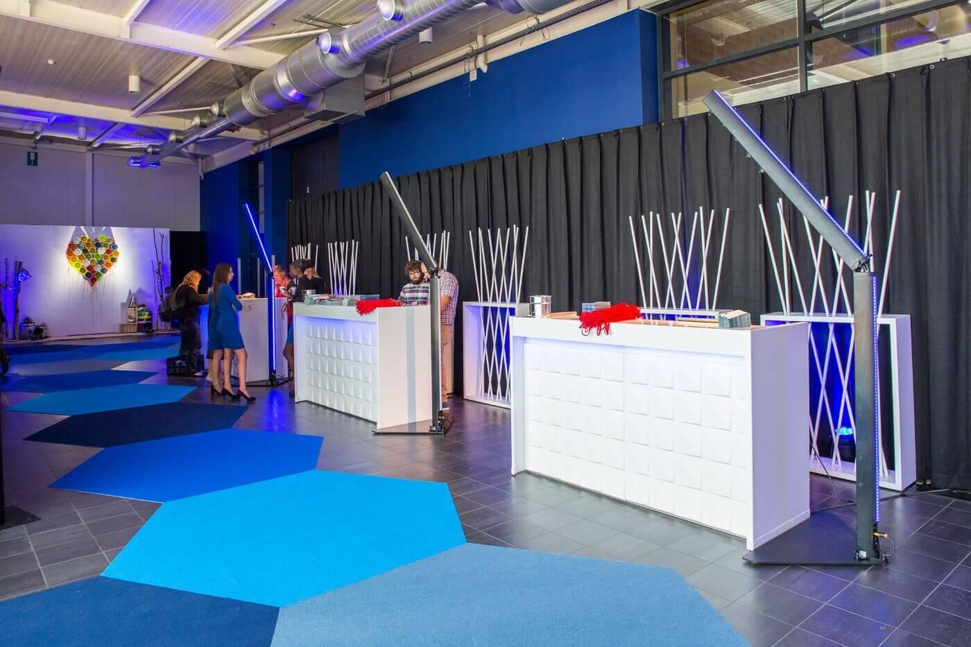 Meubilair voor beursbouw huren | © www.Expopoint.be
