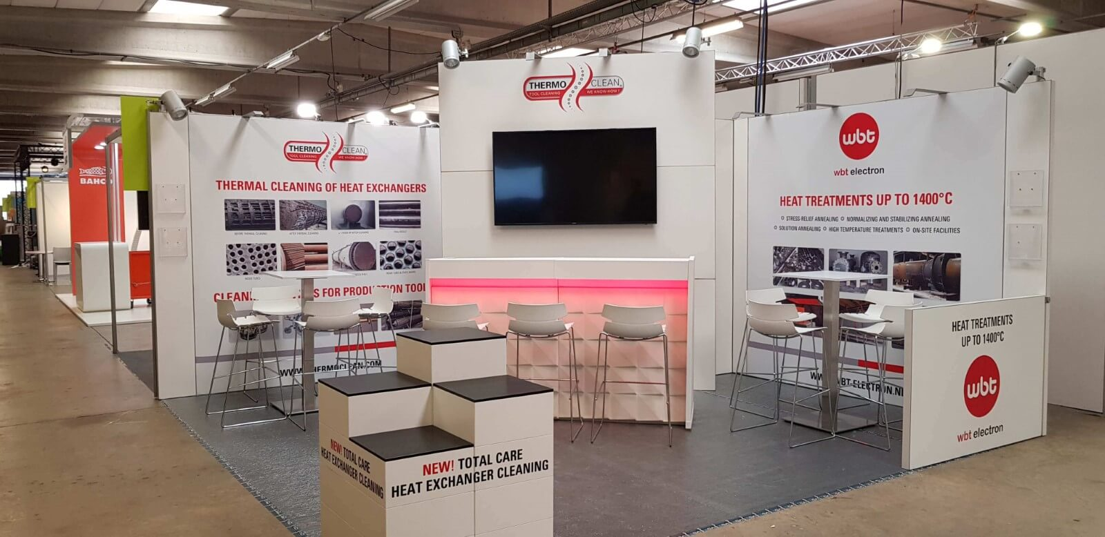 Beursstand met aluvision | © www.Expopoint.be